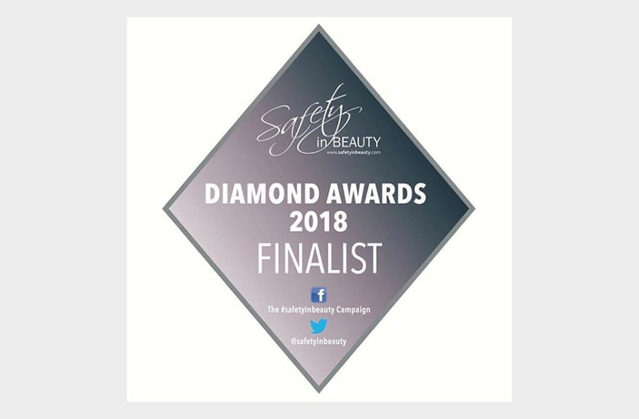 Safety in Beauty Diamond Awards 2018 Finalist